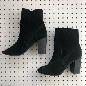 Chinese Laundry | Suede Heeled Bootie